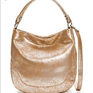 🎉FRYE🎉!!! Melissa Metallic Rose Gold Handbag